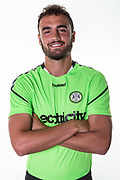 Forest Green Rovers Farrend Rawson during the 2018/19 official team photocall for Forest Green Rovers at the New Lawn, Forest Green, United Kingdom on 30 July 2018. Picture by Shane Healey.