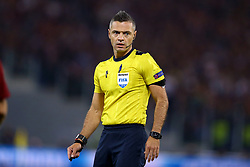 May 2, 2018 - Rome, Lazio, Italy - AS Roma v FC Liverpool - Champions League semi-final second leg.The referee Damir Skomina (SLO) at Olimpico Stadium in Rome, Italy on May 02, 2018. (Credit Image: © Matteo Ciambelli/NurPhoto via ZUMA Press)
