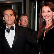 NLD/Amsterdam/20111017 - Premiere De Heineken Ontvoering, Irene van der Laar en partner Serge de Warrimont