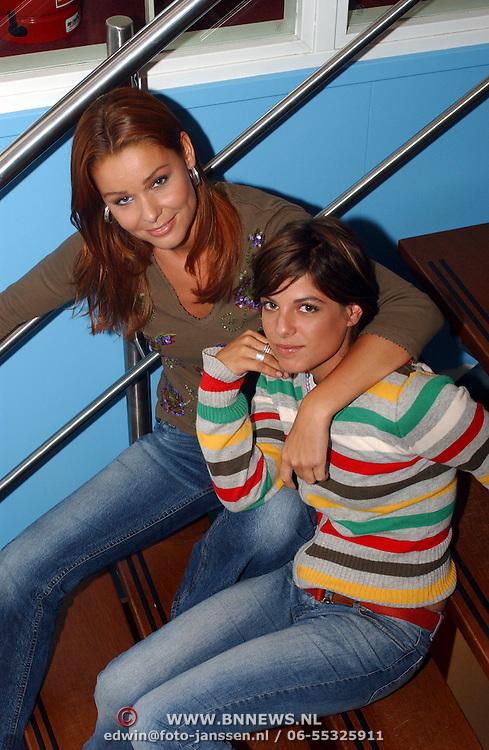 BNN winterpresentatie 2002, Froukje de Both en Lizelotte van Dijk