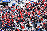Supporters Toulon - 19.04.2015 - Toulon / Leinster - 1/2Finale European Champions Cup -Marseille<br /> Photo : Andre Delon / Icon Sport