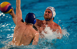 Rok Crnica of Koper during water polo match between ASD Vaterpolo Rokava Koper and AVK Triglav Kranj in 3rd Round of Final of Slovenian Water polo National Championship, on June 8, 2011 in Zusterna pool, Koper, Slovenia. Rokava Koper defeated Triglav Kranj 12-6 and became Slovenian Champion 2011. (Photo By Vid Ponikvar / Sportida.com)