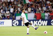 KRAKOW, POLEN 2017-06-24<br /> Jeremy Toljan under UEFA U21 matchen mellan Italien och Tyskland p&aring; Krakow Stadium den 24 juni, 2017 i Krakow, Polen<br /> Foto: Nils Petter Nilsson/Ombrello<br /> ***BETALBILD***