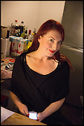 LADY ALEX, Opening of the Trouble Club., Lexington St. Soho London. 6 November 2014