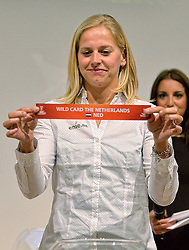 30-03-2015 NED: FIVB Drawing WCH Beach Volleyball, The Hague<br /> The Drawing of Lots for the FIVB Beach Volleyball World Championships The Netherlands 2015 will take place at the Mauritshuis art museum / Marleen van Iersel
