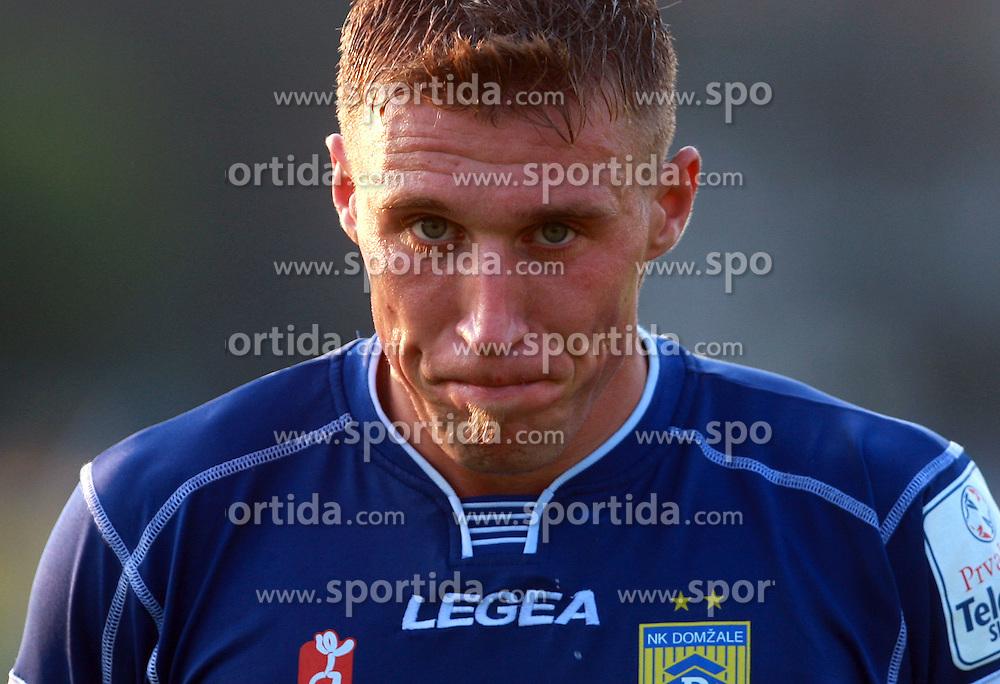 Ivan Knezovic  (25) of Domzale at 7th Round of PrvaLiga Telekom Slovenije between FC Koper vs NK Domzale, on August, 2008, in SRC Bonifika, in Koper, Slovenia. (Photo by Vid Ponikvar / Sportal Images)