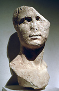 Marcus Vipsanius Agrippa Postumus (12 BC - 14 AD) also called Agrippa Postumus. Adopted son of Emperor Augustus. On death of Augustus, Agrippa was murdered and Tiberius became Emperor. Ancient Roman