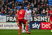 Chris O'Grady of Bolton Wanderers during the EFL Sky Bet League 1 match between Bolton Wanderers and Milton Keynes Dons at the University of  Bolton Stadium, Bolton, England on 16 November 2019.