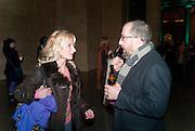 VIRGINIA DAMPSTA; DAVID GRYN, , Migrations private view, Tate Britain. London. 30 January 2012.
