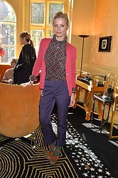 LAURA BAILEY at a lunch to view Solange Azagury-Partridge's new collection - Chromance at her store at 5 Carlos Place, London on 7th October 2014.