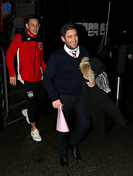 Bristol City head coach Lee Johnson arrives at Highbury Stadium - Mandatory by-line: Matt McNulty/JMP - 17/01/2017 - FOOTBALL - Highbury Stadium - Fleetwood,  - Fleetwood Town v Bristol City - Emirates FA Cup Third Round Replay