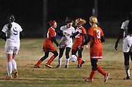 Oxford High vs. Lafayette High in girls soccer action on Tuesday, December 10, 2013. The match ended in a 5-5 tie.