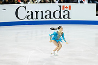 KELOWNA, BC - OCTOBER 26: Japanese figure skater Rika Kihira competes during ladies long program of Skate Canada International held at Prospera Place on October 26, 2019 in Kelowna, Canada. (Photo by Marissa Baecker/Shoot the Breeze)