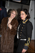 JESSICA LAMBERT; JOY LO DICO, Opening of the Trouble Club., Lexington St. Soho London. 6 November 2014