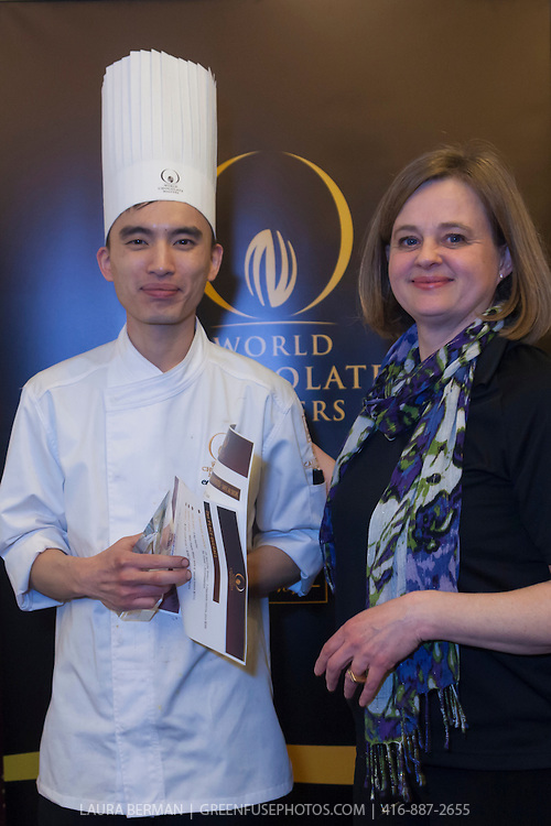 "Chris Kwok: 2nd place winner and Best Classic Dessert Revisited ""Tarte au Sucre"" . World Chocolate Masters Canadian Selection, January 20, 2013."
