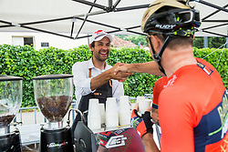 Gregor Gazvoda during 1st Stage of 25th Tour de Slovenie 2018 cycling race between Lendava and Murska Sobota (159 km), on June 13, 2018 in  Slovenia. Photo by Vid Ponikvar / Sportida