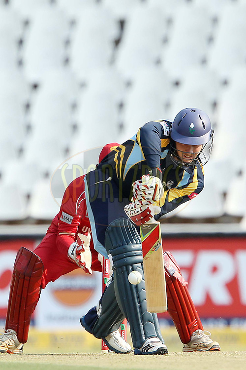 David Miller during 1st Qualifying match of the Karbonn Smart CLT20 South Africa between Uva Next and Yorkshire held at The Wanderers Stadium in Johannesburg, South Africa on the 9th October 2012..Photo by Ron Gaunt/SPORTZPICS/CLT20