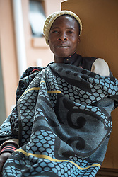 2 March 2017, Ma Mafefooane Valley, Lesotho: Retselisitsoe is a patient at Saint Joseph's Hospital awaiting care. Saint Joseph's Hospital is a district hospital in the Ma Mafefooane Valley in Lesotho. The hospital was established in 1937 and is run as a Roman Catholic non-profit institution by the Christian Health Association of Lesotho. As a district hospital, it offers comprehensive healthcare including male, female, paediatric, Tuberculosis and maternity care. It is closely linked with the neighbouring Roma College of Nursing, which runs on similar premises as part of the same institution. Drug supplies are secured to the hospital by means of a Memorandum of Understanding with the government.