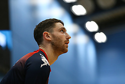 Josh Rogers of Bristol Flyers during the warm up - Photo mandatory by-line: Arron Gent/JMP - 07/12/2019 - BASKETBALL - Surrey Sports Park - Guildford, England - Surrey Scorchers v Bristol Flyers - British Basketball League Championship