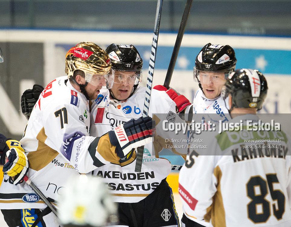 Blues - Kärpät. Jääkiekon SM-liiga. Espoo 27.9.2012. Photo: Jussi Eskola
