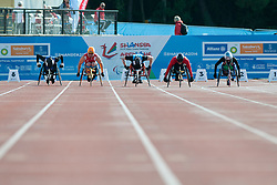 Rob Smith, Thomas Geierspichler, Mario Trindade, Artem Shishkovskiy, Beat Bosch, 2014 IPC European Athletics Championships, Swansea, Wales, United Kingdom