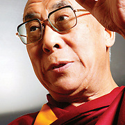 His Holiness the Dali Lama on his last visit to Scotland