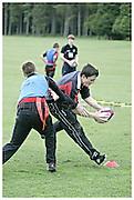 Saracens summer residential coaching camp at RAF Halton.