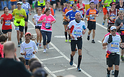 01-11-2015 USA: NYC Marathon We Run 2 Change Diabetes day 4, New York<br /> De dag van de marathon, 42 km en 195 meter door de straten van Staten Island, Brooklyn, Queens, The Bronx en Manhattan / Tino