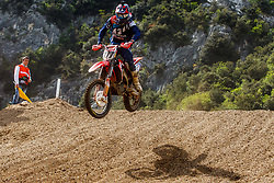 Evgeny Bobryshev #777 of Russia during MXGP Trentino race one, round 5 for MXGP Championship in Pietramurata, Italy on 16th of April, 2017 in Italy. Photo by Grega Valancic / Sportida