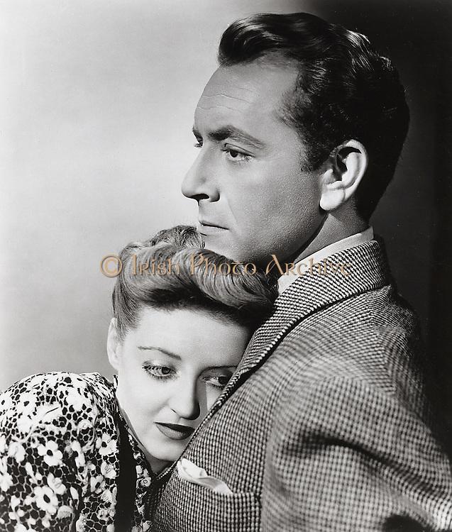 NOW, VOYAGER, Warner Bros., 1942. Producer: Hal. B. Wallis. Director: Irving Rapper. Bette Davis (1908-1989) and Paul Henreid.