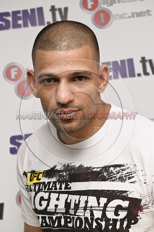 A portrait of mixed martial arts athlete Andre Winner