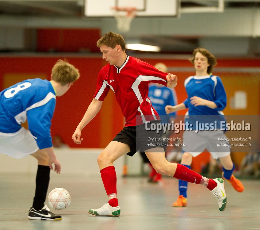 Simo Syrjävaara Futsal Cup. Espoo. 11.4.2010. Photo: Jussi Eskola