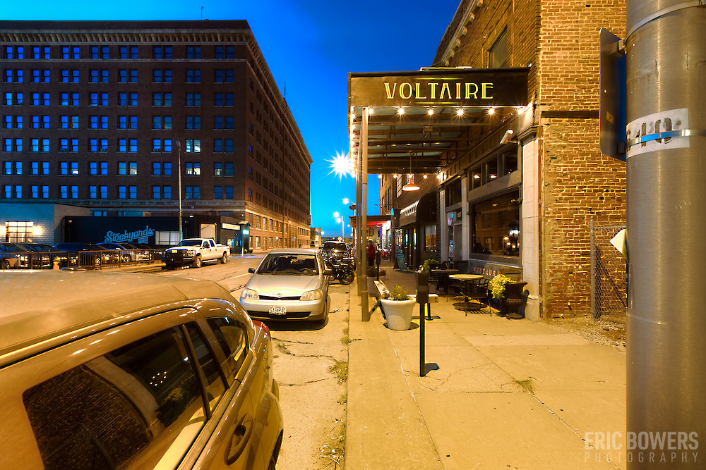 West Bottoms area, Genessee Street. Kansas City, Missouri.