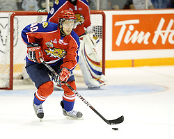 Alex Wall of the Moncton Wildcats in Game 3 of the 2010 MasterCard Memorial Cup in Brandon, MB on Sunday May 16. Photo by Aaron Bell/CHL Images