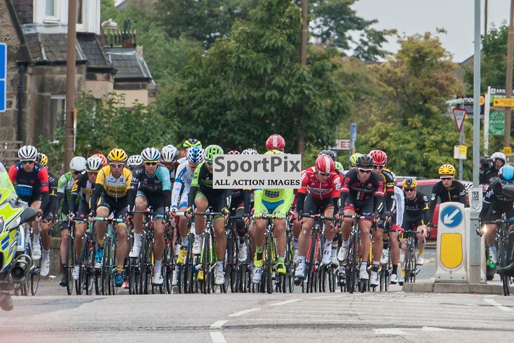 The Tour of Britain Stage Four rolls out of Edinburgh JON DAVEY | SportPix.org.uk
