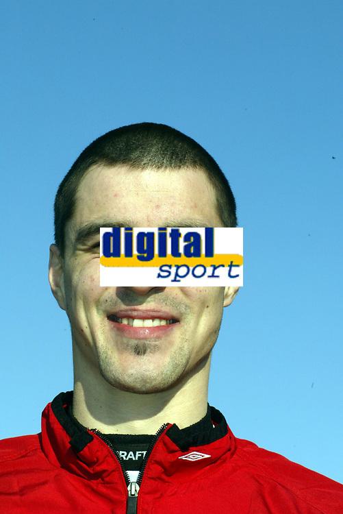 Fotball, portrett, portretter Tippeligaen 2005,   Paul Scharner , Brann