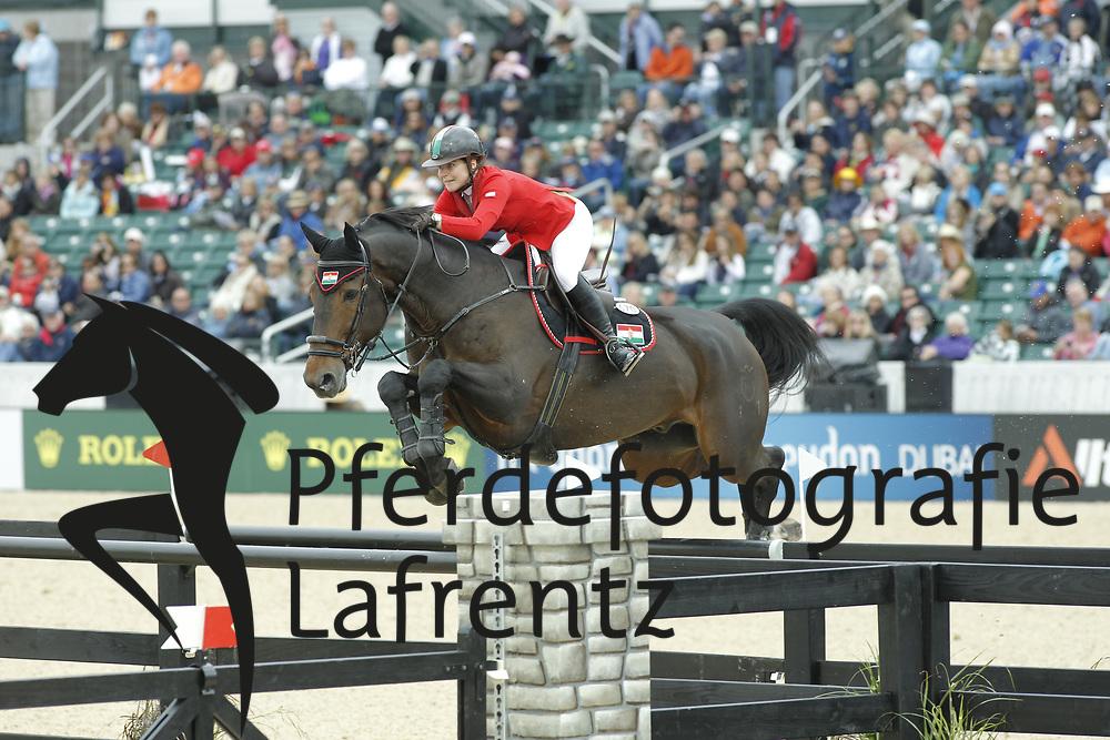 HUGYECZ Mariann, Cash<br /> Kentucky - Alltech FEI WEG 2010<br /> /Stefan Lafrentz