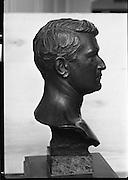 Bust of Michael Collins.11/02/1970<br />