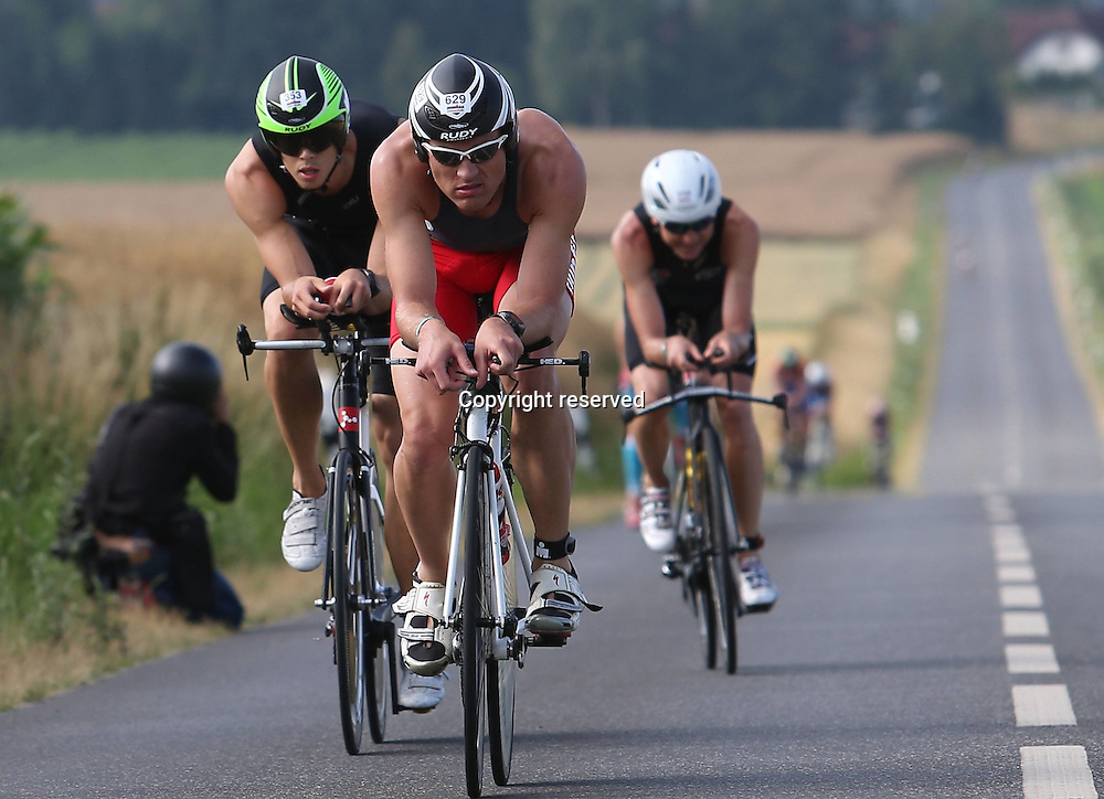 06.07.2014, Frankfurt, Germany. Ironman European Championships.  Astrid Ganzow ger