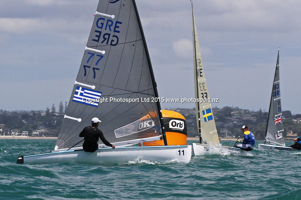 Race 6 Finn Gold Cup Takapuna - Ioannis Mitakis (GRE)