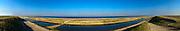Nederland, Noord-Holland, Hondschbosse Zeewering, 11-09-2015; onderdeel  Gigapanorama;<br /> <br /> copyright foto/photo Siebe Swart