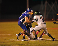 Oxford High's Toler Presley (5) vs. Lake Cormorant in Oxford, Miss. on Friday, October 5, 2012. Oxford High won 26-0.