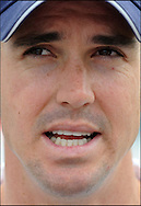 Kevin Pietersen after the final day day of the fourth Test at the Oval on the 11th of August 2008..England v South Africa.Photo by Philip Brown.www.philipbrownphotos.com