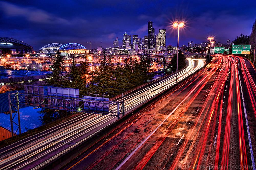 Winter Morning in Seattle
