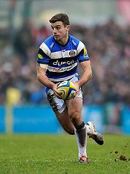George Ford of Bath Rugby - Photo mandatory by-line: Patrick Khachfe/JMP - Mobile: 07966 386802 04/01/2015 - SPORT - RUGBY UNION - Leicester - Welford Road - Leicester Tigers v Bath Rugby - Aviva Premiership