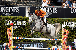 Schuttert Frank, NED, Claus Dieter<br /> Longines FEI Jumping Nations Cup™ Final<br /> Barcelona 20128<br /> © Hippo Foto - Dirk Caremans<br /> 05/10/2018