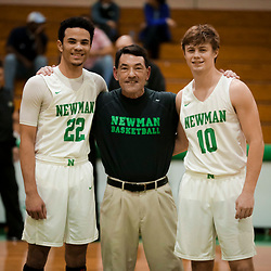 02-11-2019 South Plaqueimines vs Newman - Boys Basketball Senior Night