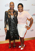 New York, NY-May 13: (L-R) Producer Sidra Smith and Restaurantuer Trenesse Woods-Black attend ' Harlem on my Plate' and the Toasting of the Schomburg Center for its National Medal for Museums & Library Service Award powered by Citi on May 13, 2015 in New York City. Terrence Jennings/terrencejennings.com)