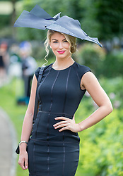Model and former I'm A Celebrity contestant Amy Willerton. Image ©Licensed to i-Images Picture Agency. 20/06/2014. Ascot, United Kingdom. Royal Ascot. Ascot Racecourse. Picture by i-Images