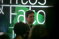 August 15, 2017 - Sao Paulo, Brazil - Federal Judge Sérgio Moro participates in a debate on the autonomy of Brazilian institutions and the post-Lava-Jato effect on powers and business, on Tuesday (15th) during the 4th edition of the Myths & Facts Forum, sponsored by Jovem Pan radio, At the Tivoli hotel (Credit Image: © Dario Oliveira via ZUMA Wire)